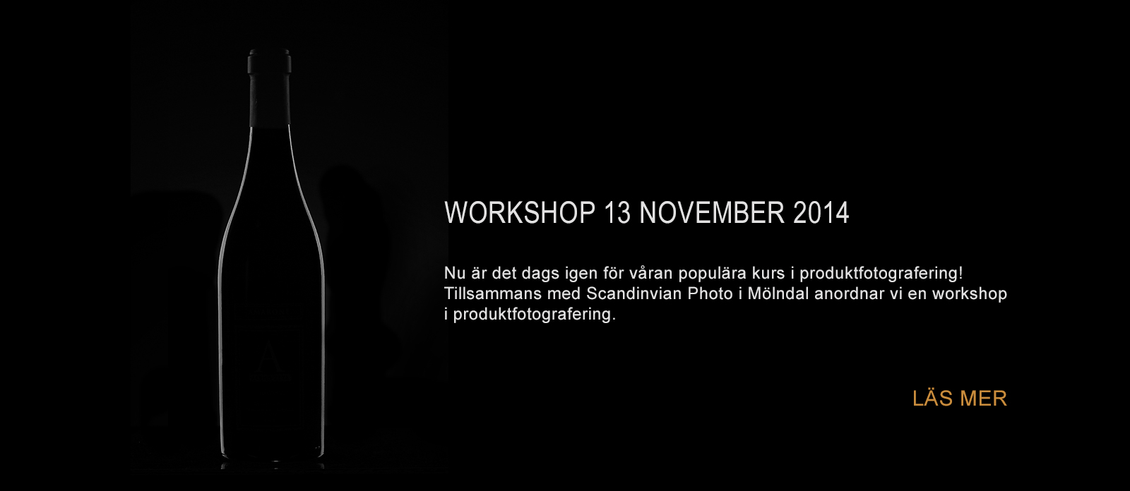 Följ våran fotograf och ta del av hans tips och trix i produktfotografering.